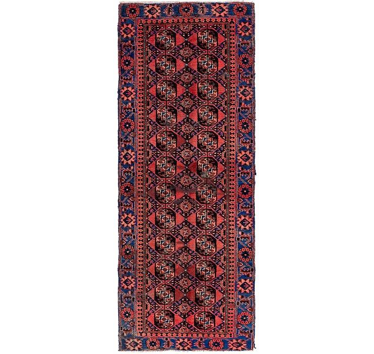 3' 5 x 9' 8 Ferdos Persian Runner Rug