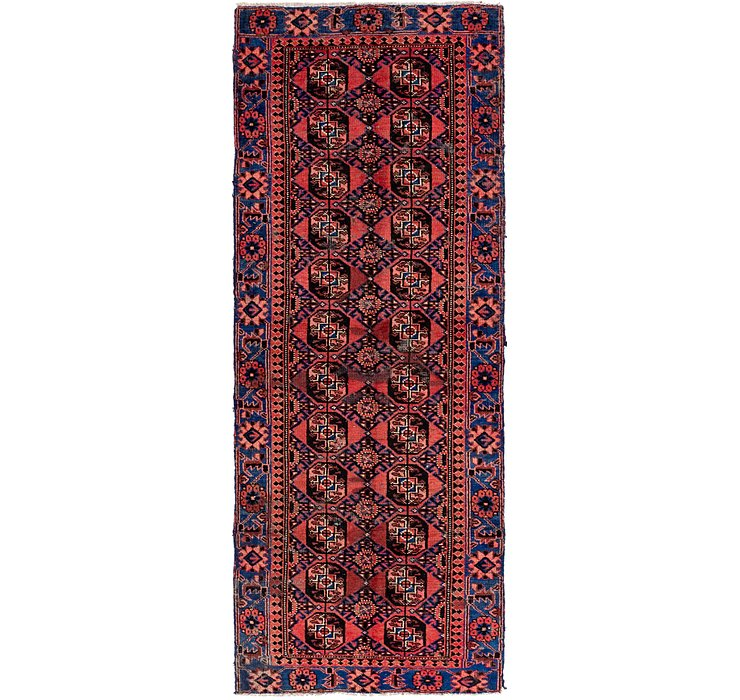 105cm x 295cm Ferdos Persian Runner Rug