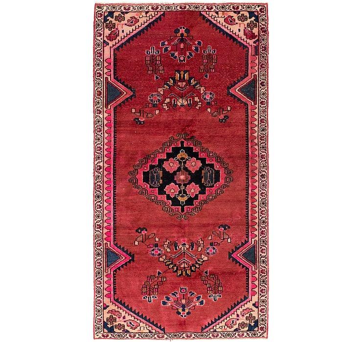 3' 9 x 7' 7 Ferdos Persian Runner Rug