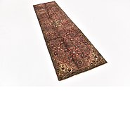 Link to 2' 8 x 9' 5 Hossainabad Persian Runner Rug