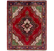 Link to 4' 10 x 6' 2 Tabriz Persian Rug