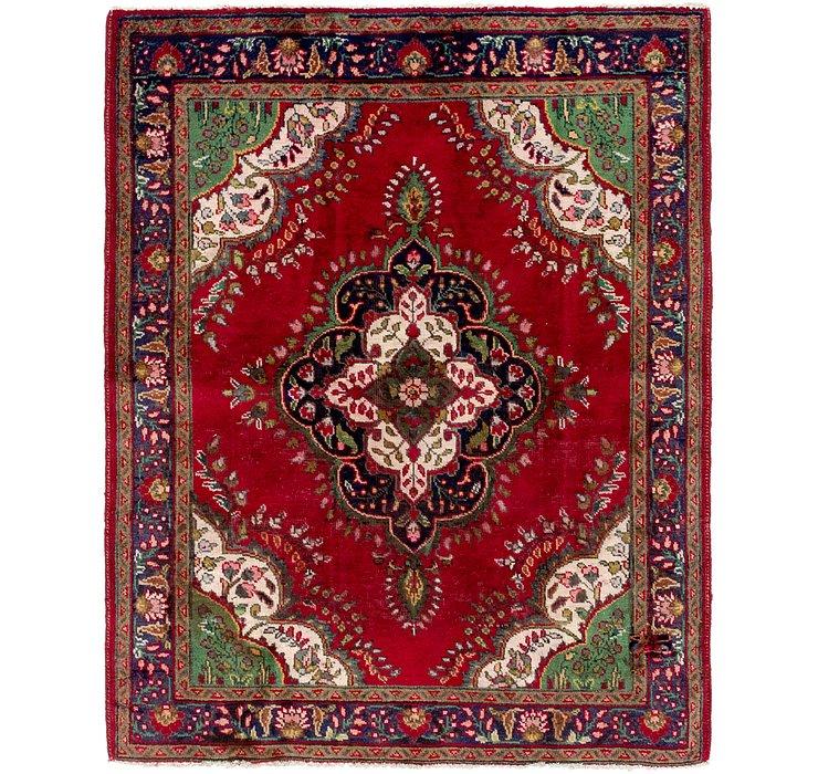 147cm x 188cm Tabriz Persian Rug