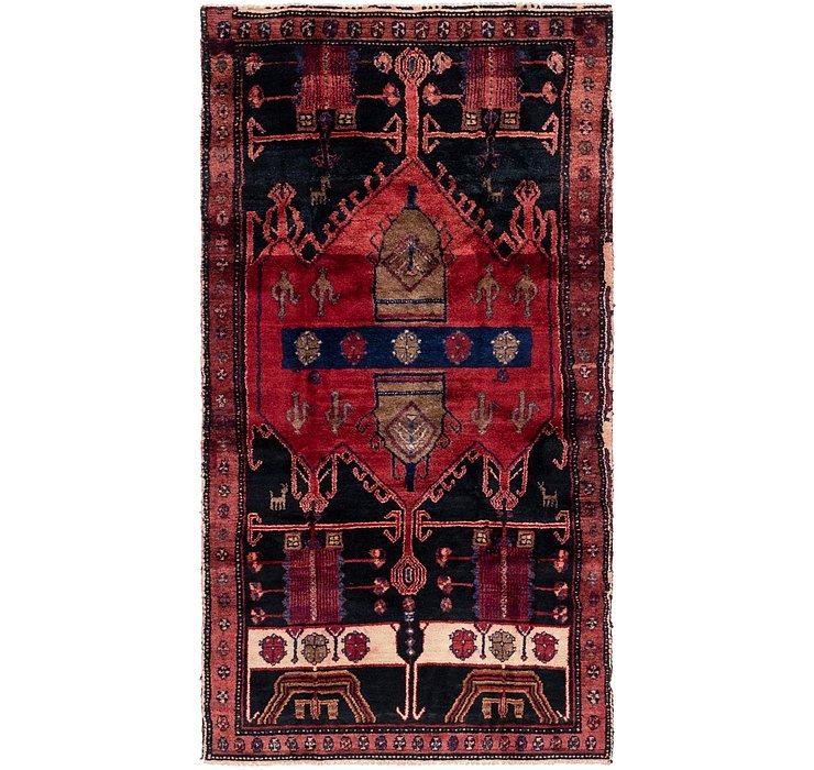 4' x 7' 9 Sirjan Persian Runner Rug