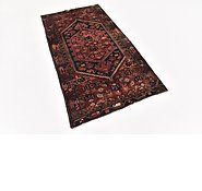 Link to HandKnotted 3' 6 x 6' 5 Zanjan Persian Rug