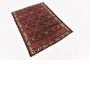 Link to 110cm x 147cm Hossainabad Persian Rug