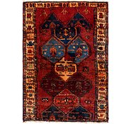 Link to 4' 4 x 6' Shiraz Persian Rug