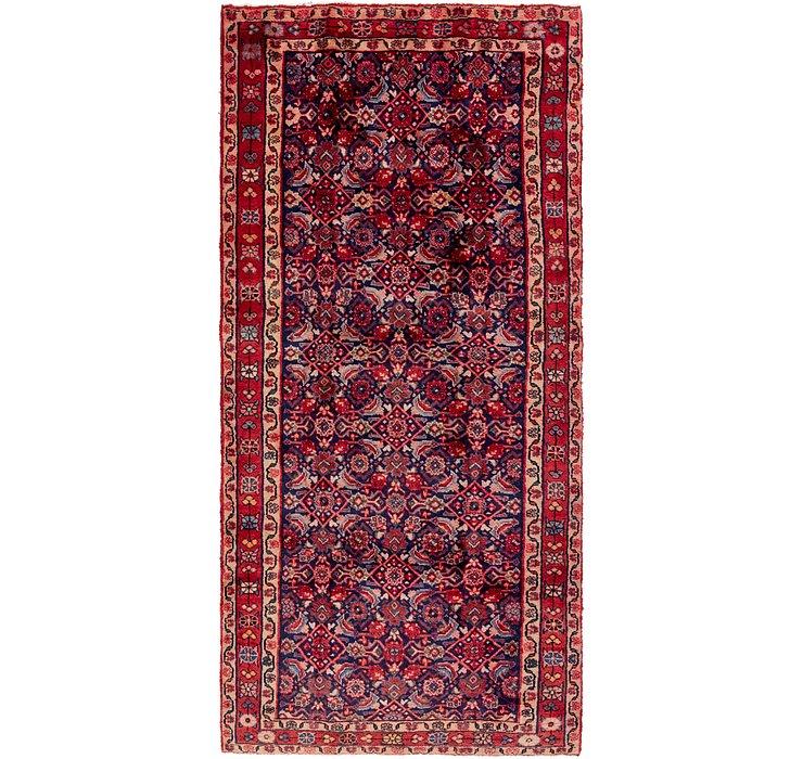 4' 6 x 10' Shahsavand Persian Runn...
