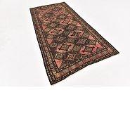 Link to 4' 2 x 8' 3 Shiraz Persian Runner Rug