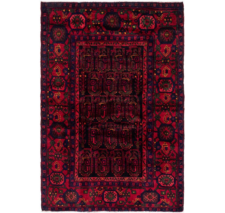 4' 4 x 6' 9 Malayer Persian Rug