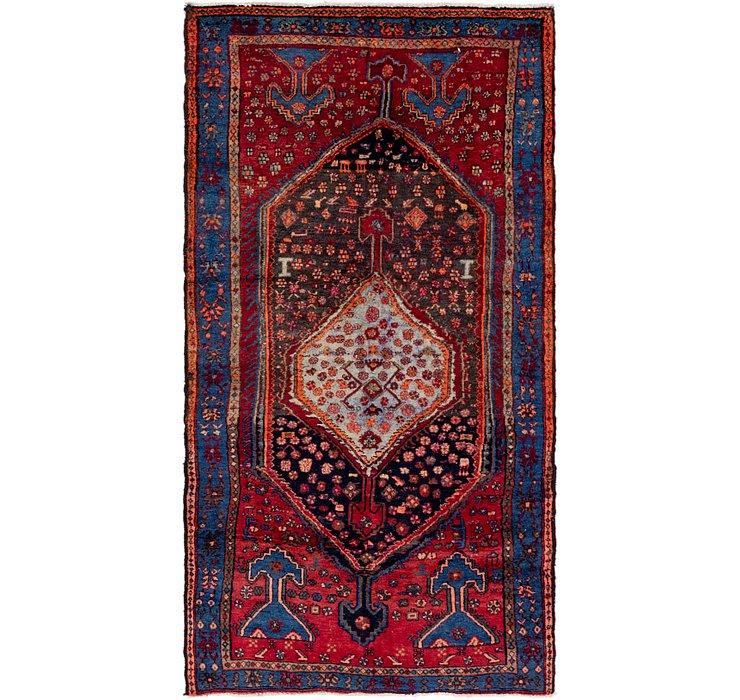4' 3 x 7' 9 Sirjan Persian Rug