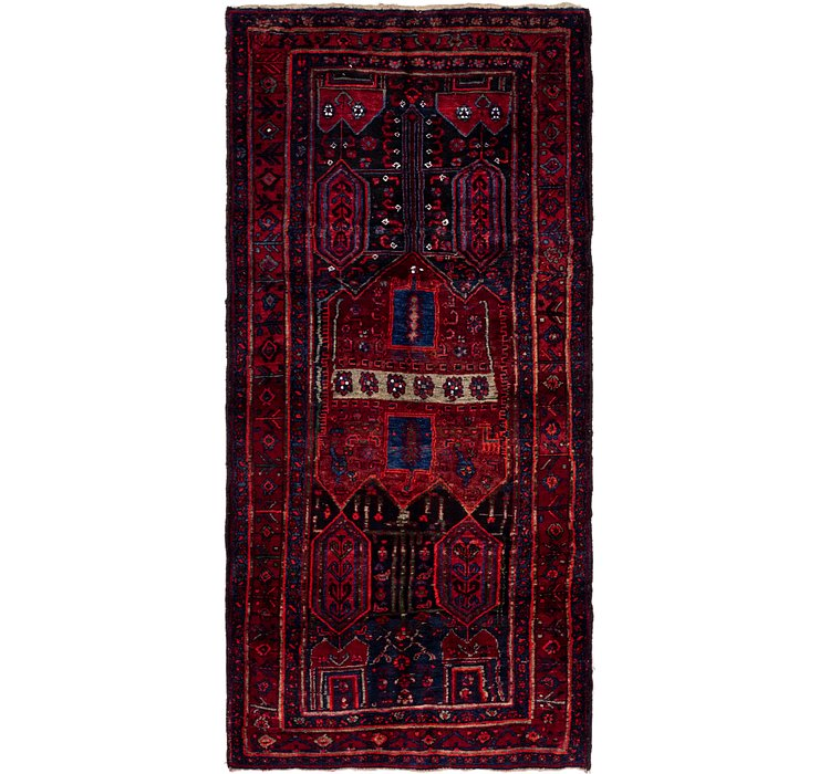 4' x 8' 10 Sirjan Persian Runner Rug