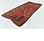 Link to 4' 3 x 9' 7 Shiraz Persian Runner Rug