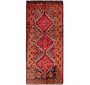 Link to 4' 3 x 9' 7 Shiraz Persian Runner Rug