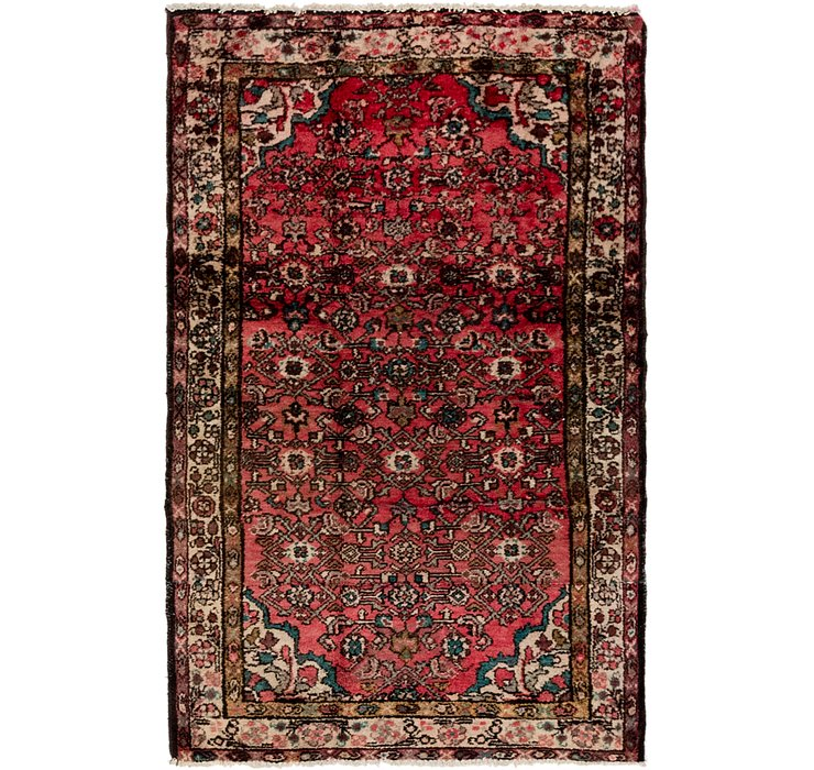 3' 2 x 5' 2 Hossainabad Persian Rug