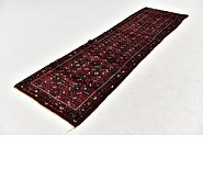 Link to 3' x 10' 8 Hossainabad Persian Runner Rug