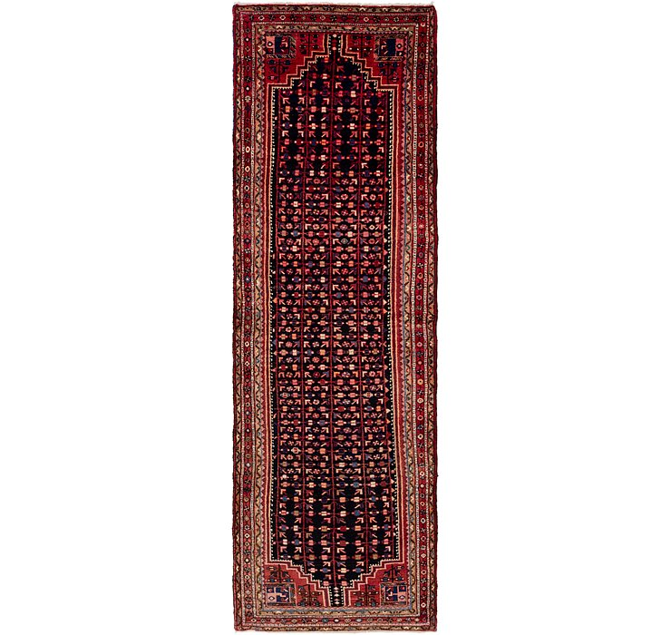 3' 10 x 13' 6 Hamedan Persian Runner ...