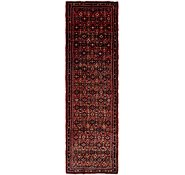 Link to 115cm x 395cm Hossainabad Persian Runner Rug
