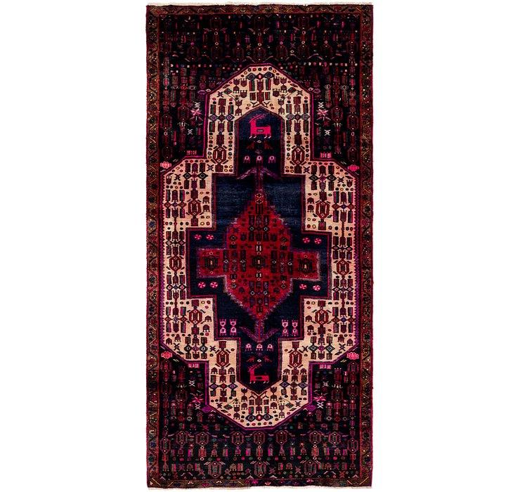 4' x 8' 8 Zanjan Persian Runner Rug