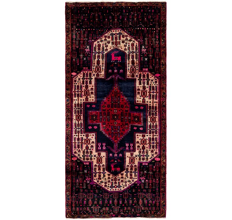 122cm x 265cm Zanjan Persian Runner Rug