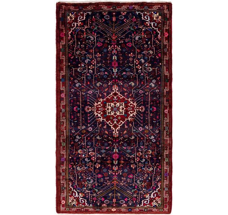 5' x 9' 9 Hamedan Persian Rug