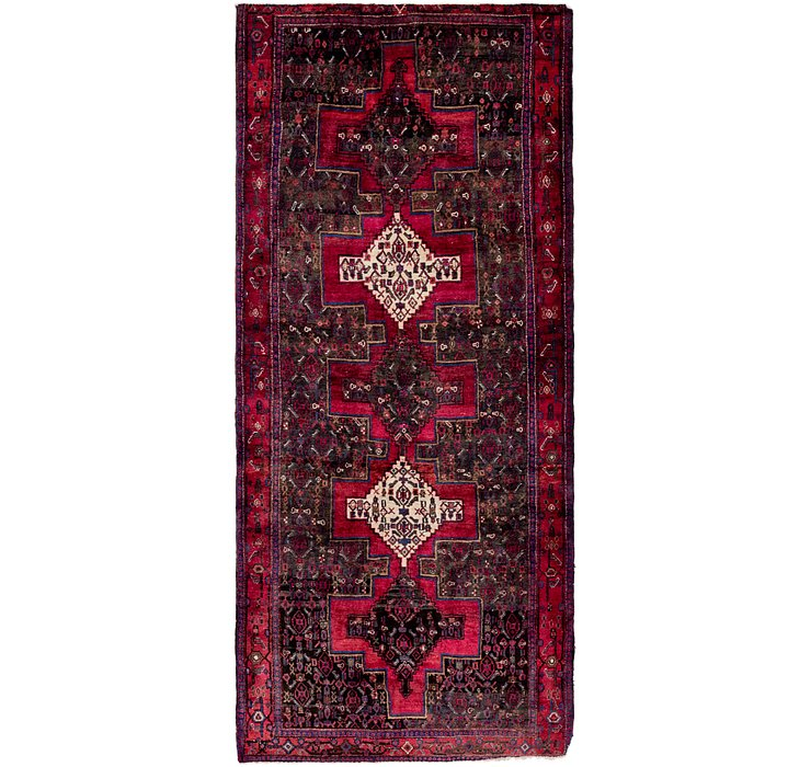4' x 9' 10 Sanandaj Persian Runner...