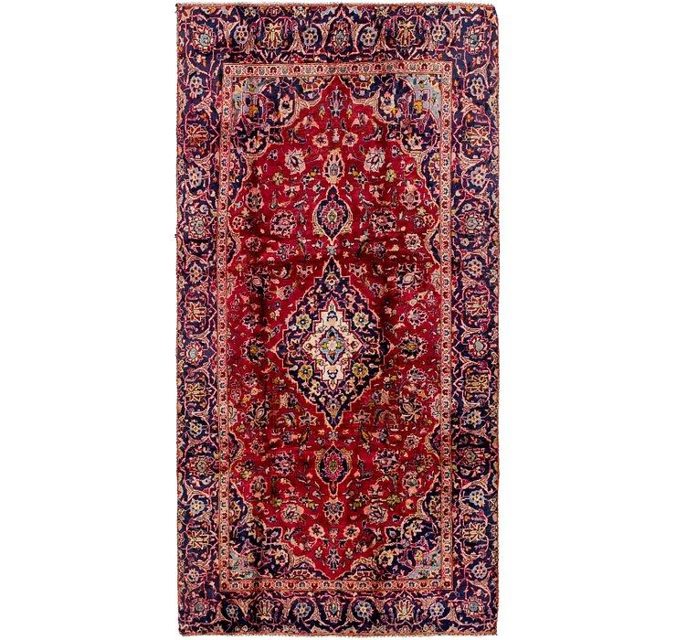 4' 5 x 8' 9 Mashad Persian Rug