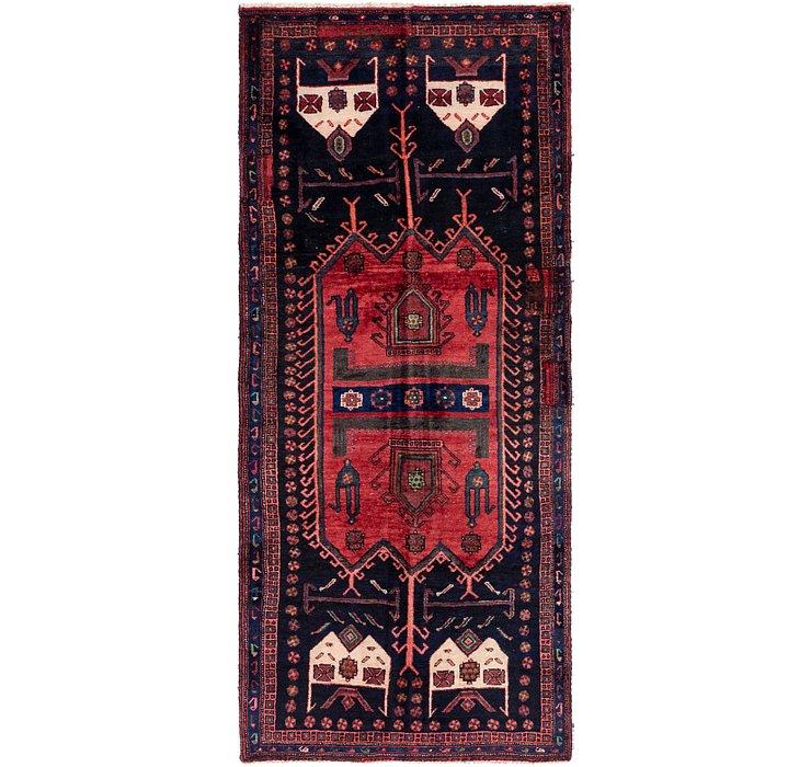 3' 9 x 8' 7 Sirjan Persian Runner Rug