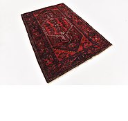 Link to HandKnotted 4' 3 x 6' 3 Zanjan Persian Rug