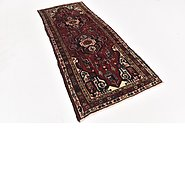 Link to 3' 8 x 9' 3 Shahsavand Persian Runner Rug