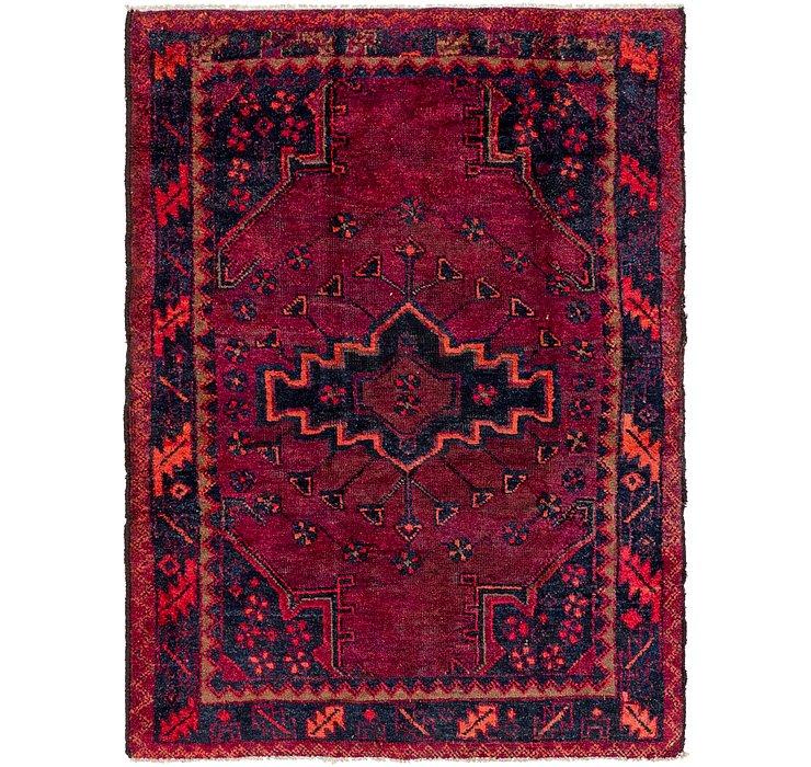 4' 9 x 6' 4 Shiraz Persian Rug