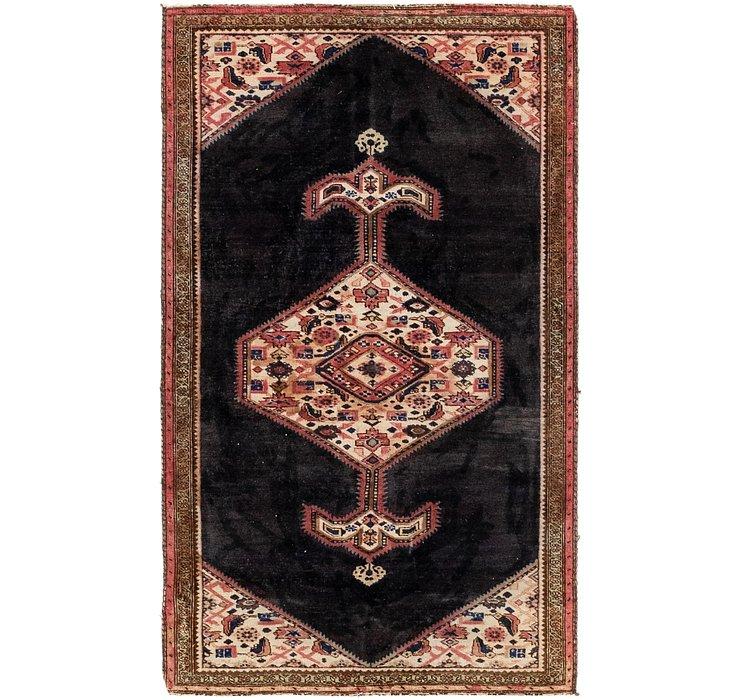 3' 4 x 5' 9 Hamedan Persian Rug