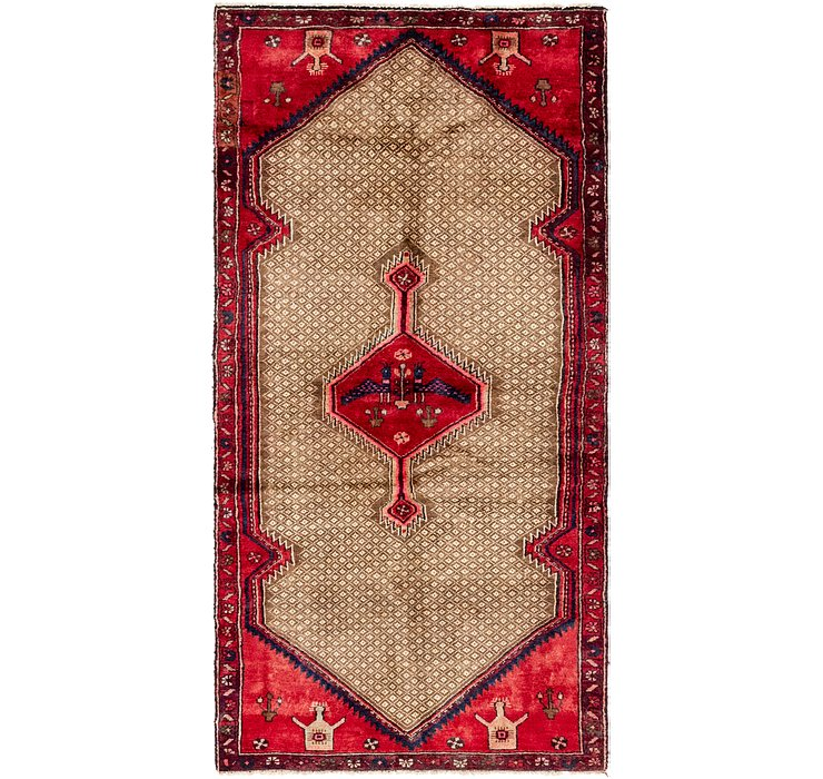 3' 2 x 6' 5 Darjazin Persian Runner...