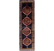Link to 105cm x 395cm Shiraz Persian Runner Rug
