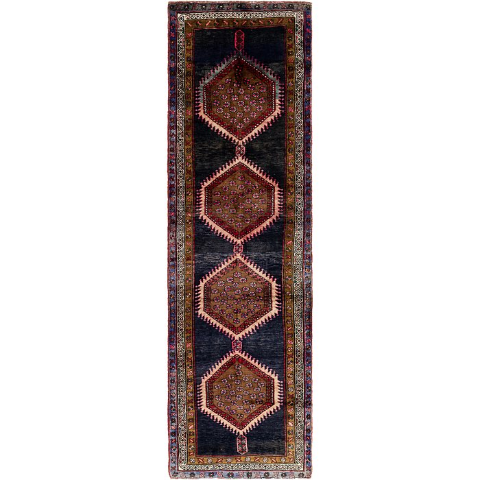 3' 5 x 13' Shiraz Persian Runner Rug