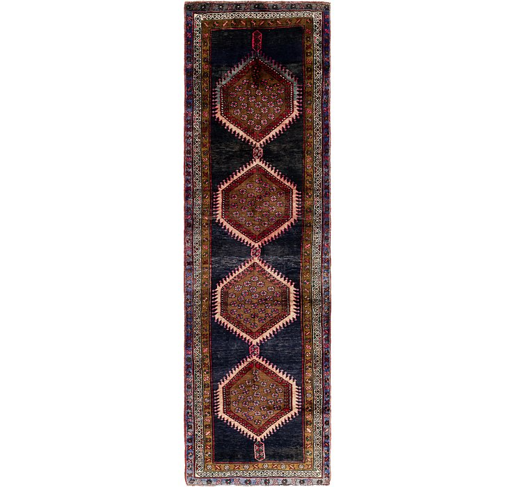 3' 5 x 13' Shiraz Persian Runner Rug
