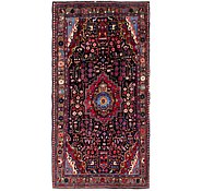 Link to 5' x 10' 4 Nahavand Persian Runner Rug