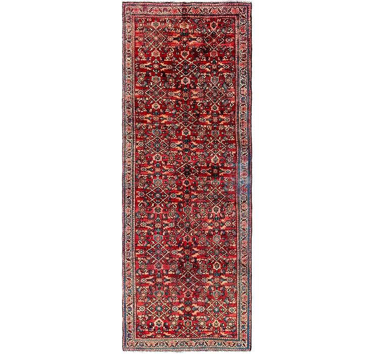 3' 7 x 9' 10 Hossainabad Persian Run...
