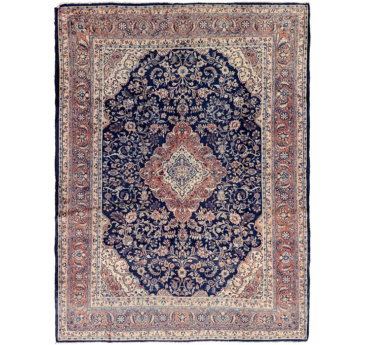 8' 4 x 11' Sarough Persian Rug