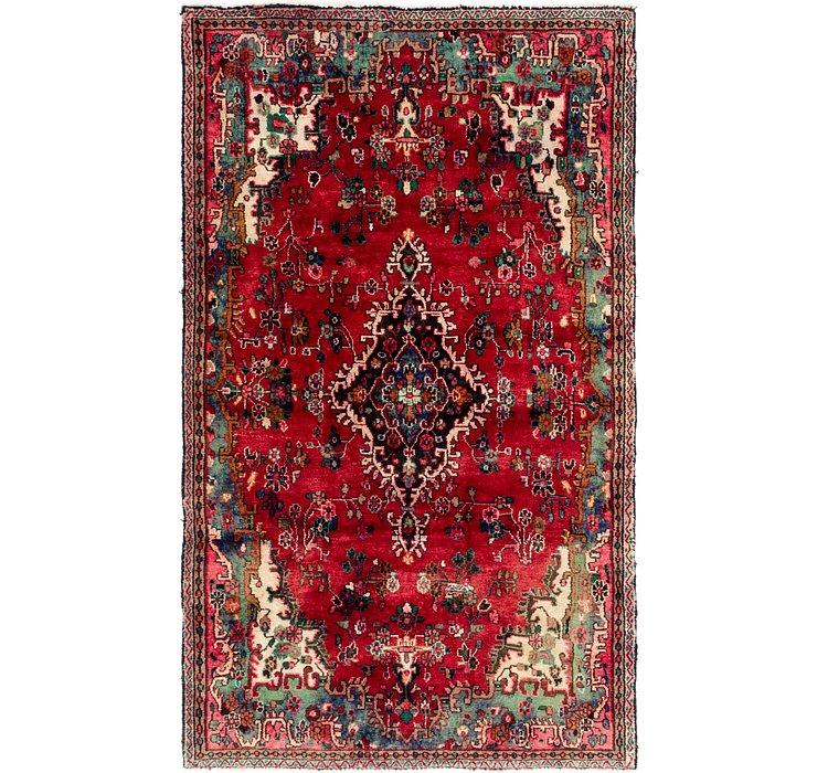 5' 6 x 9' 3 Hamedan Persian Rug