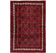 Link to 6' 9 x 9' 9 Hossainabad Persian Rug