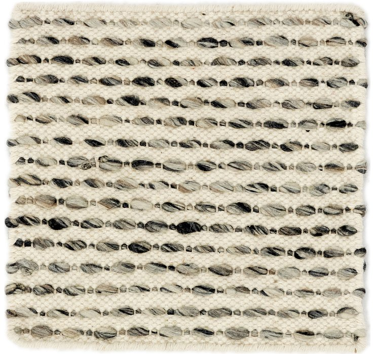1' 9 x 1' 9 Hand Braided Square Rug