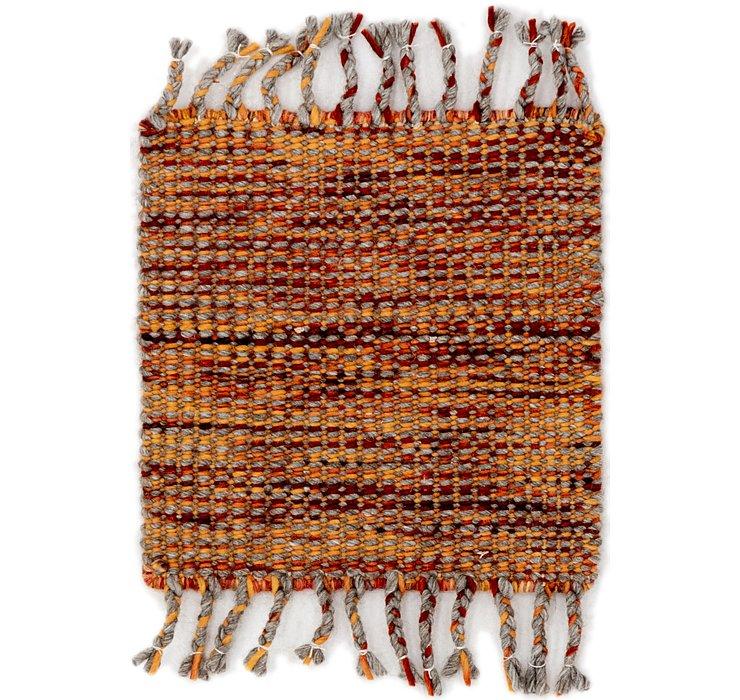 45cm x 48cm Hand Braided Square Rug