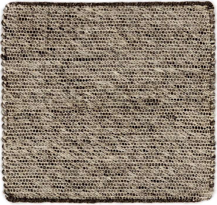 1' 8 x 1' 9 Hand Braided Square Rug