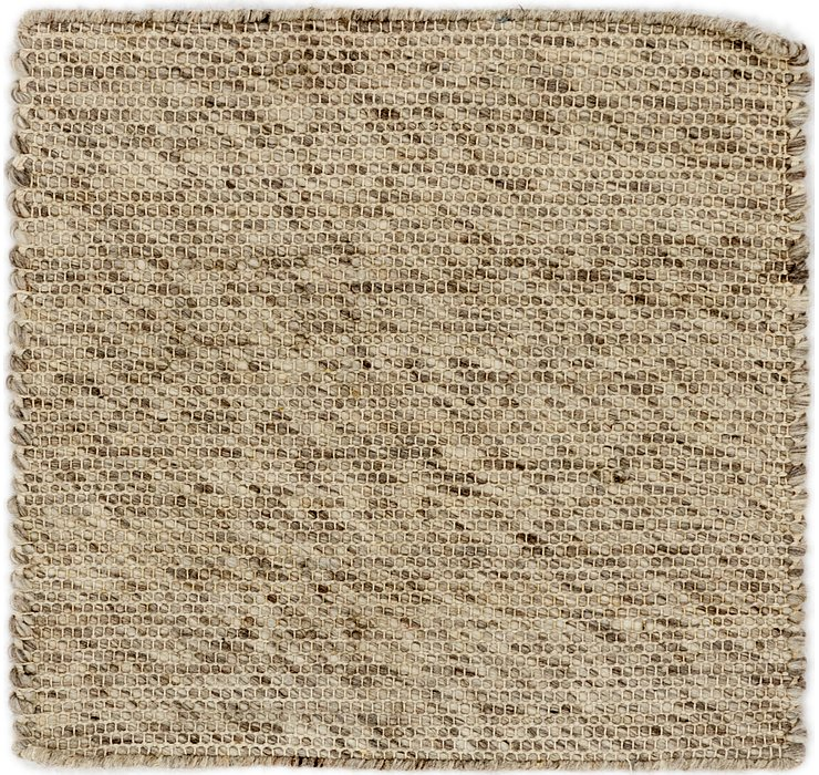 50cm x 53cm Hand Braided Square Rug