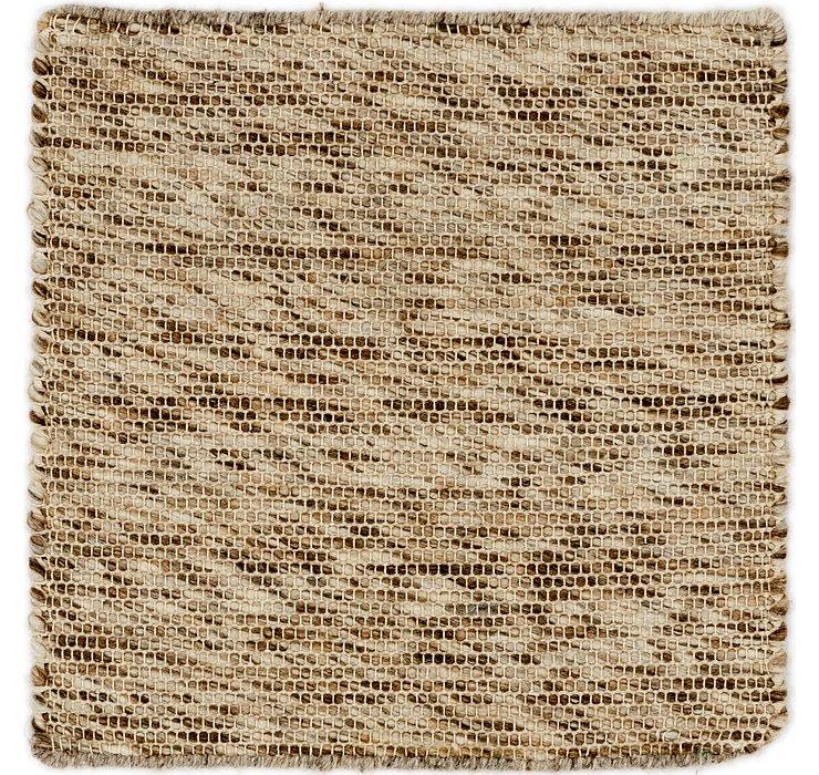 50cm x 50cm Hand Braided Square Rug