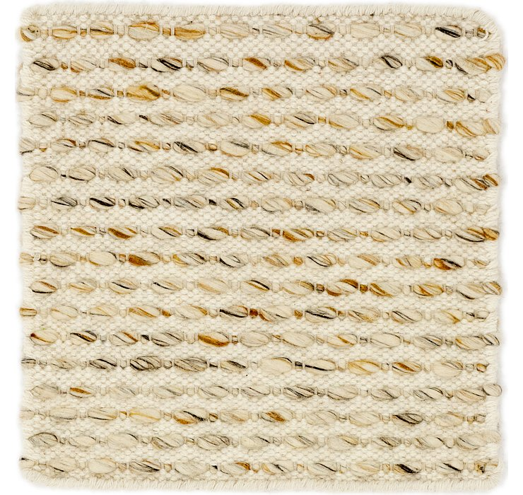 1' 8 x 1' 8 Hand Braided Square Rug