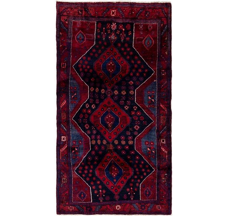 4' 2 x 7' 7 Sirjan Persian Rug