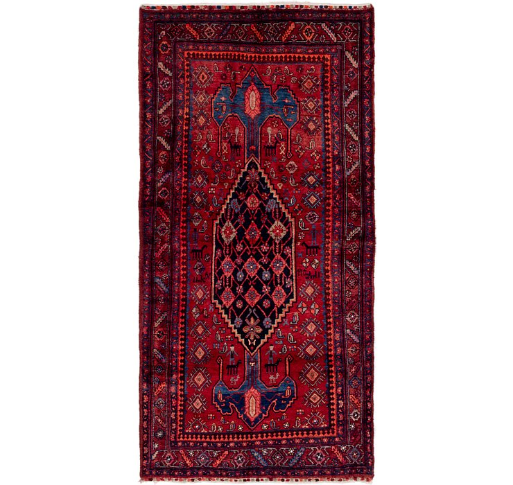 122cm x 257cm Gholtogh Persian Runner...