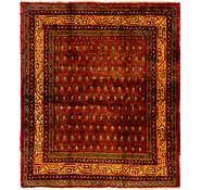 Link to 163cm x 188cm Botemir Persian Square Rug