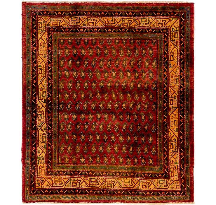 5' 4 x 6' 2 Botemir Persian Square ...